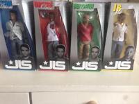JLS figures boxed £15
