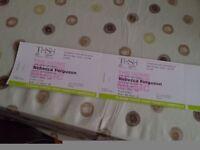 Rebecca Ferguson.. 2 tickets
