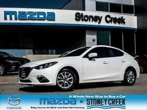 2014 Mazda MAZDA3 GS AUTO,SUN+FOG,NEW F/R BRAKES,ACC FREE,1 OWNE