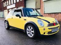 2004 54 reg Mini Cooper 1.6 petrol 116 bhp in yellow