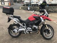 Bmw gs 1200 r tu FACTORY LOWERED CHASSIS... ALL EXTRAS INCLUDED IN PRICE