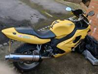 Triumph TT600 Yellow Motorbike 2000