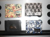 UNUSED - MENS/BOYS WALLETS