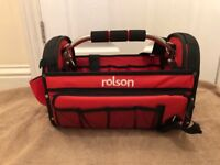 ROLSON BRAND NEW TOOL BAG HOLDALL DIY CONSTRUCTION PLUMBER BUILDER COLLECTION ROMFORD RM5 DOG RESCUE