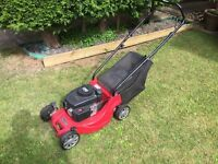 Petrol Lawn Mower - Mountfield HP164 hand-propelled (Used but in good condition))