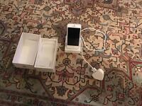 I phone 5 silver 16gb
