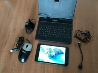 Linx 7 PC tablet,Windows 10,Intel 4 core,32GB plus microSD,Wifi,Bluetooth,HDMI,Webcam,keyboard case