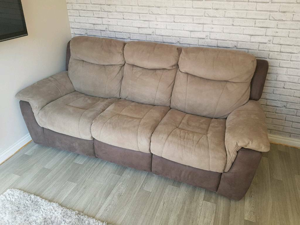 Dfs Bryson 3 Seater Recliner Sofa