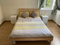 Double bed + mattress like NEW!