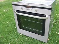 Single stainless steel ,electric oven, aeg, german quality reconditioned fitting available