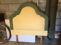 Upholstered headboard single (large)