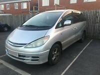 TOYOTA ESTIMA PREVIA IMPORT AUTOMATIC 8 SEATER SPARES OR REPAIRS, RUNS