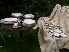 Large set of vintage china