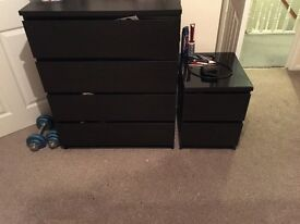 Two IKEA drawers