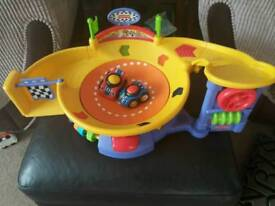 Fisher price speedway -with new batteries