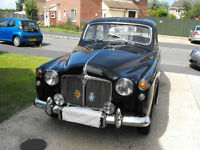 "1958 ROVER P4 90 SALOON "" MOT & TAX EXEMPT """