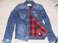 superdry padded quilted denim jacket
