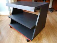 Wheeled TV Stand