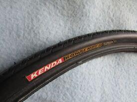 BRAND NEW Bicycle Tyre. 'KENDA KONTENDER' 25 x 1. Only £6.