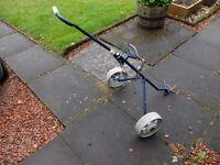 A Titleist lightweight pull trolley