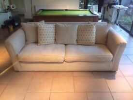 Ponsford Large Fabric Sofa
