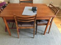 Midcentury Danish Extendable Dining Table (without chairs)
