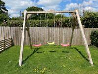 Wooden Swings Swingset Heavy Duty