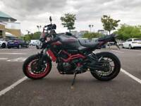 MT07 Motocage Acrapovic full system and extras