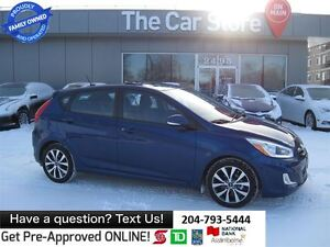 2015 Hyundai Accent GLS - SUNROOF, HTD SEAT, BLUETOOTH 1-OWNER