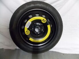 Golf Mk5 and 6 space saver spare wheel