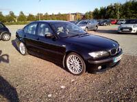 BMW 330i Sport Auto/Tiptronic, 54 reg, Black, £3200