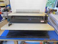GBC comb binding machine