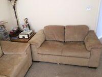 Two x 2 seater Sofas