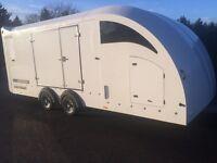 Race transport trailer