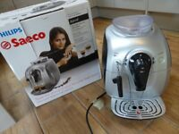 Philips Saeco HD8745 Xsmall One Touch Bean to Cup Espresso Machine