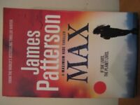 JAMES PATTERSON - MAX - (Kirkby in Ashfield)