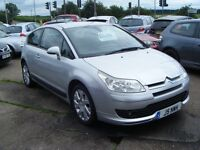 CITROEN C4 COUPE VTS+ 3 DOOR 1.6 2005