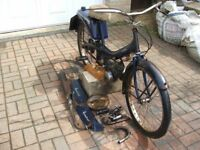 Vintage Raleigh Runabout Rm6 1970 H Reg No V5c Barn Find Good Project