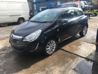 BREAKING - VAUXHALL CORSA D - FACELIFT FRONT BUMPER - BLACK Z20R - ALL PARTS AVAILABLE