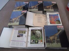 Wildlife Fact-File series in seven volumes.