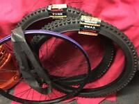 2X Bicycle tyres