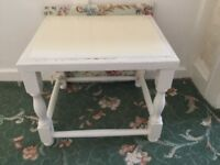 Small Stool in need of Restoration £10.00 Collection Bolton or Altrincham.