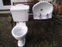 toilet and sink matching set