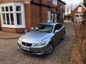 2007 57 Lexus IS 220D 2.2 TD SE 4dr! GREAT VALUE! LOW MILES! LONG MOT!! BARGAIN!