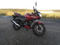 Honda CBF125 Red - 3000 miles - £1650