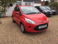 2013 FORD KA EDGE CAT D GREAT MPG £30 RD TAX 26,000 MILES DRIVES GREAT side repaired only with pics