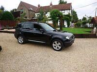 BMW X3 2004, SPORT, LPG, NEW MOT, FSH, BLACK, LEATHER, 45MPG+