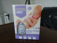 Snuza Hero SE Baby Movement Monitor (detects that your baby is breathing safely when sleeping)