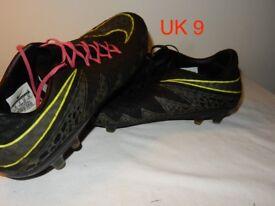 Nike Hypervenom Phinish FG - 749901 001 UK 9 FOOTBALL BOOTS