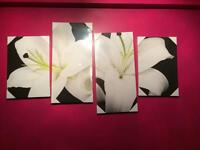 Lilly wall art canvas NEW